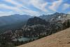 Above Crystal Crag and Crystal Lake