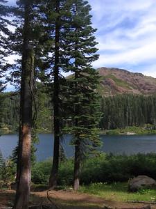 Feeley Lake and Fall Creek Mountain