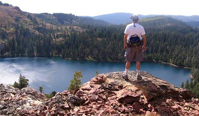 Jonathan above Culbertson Lake