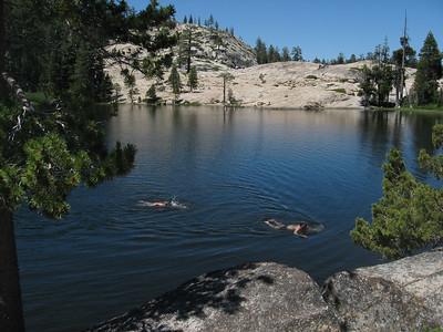Shealor Lake, with Todd & Sean
