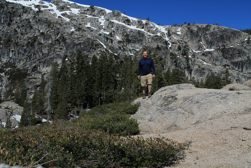 Five Lakes Trail, Granite Chief Wilderness, Tahoe National Forest.  May 19, 2012.