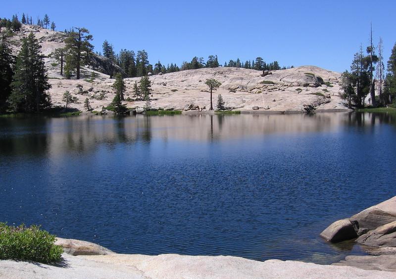 Shealor Lake, El Dorado National Forest.  August 2005.