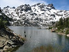 Upper Sardine Lake, Plumas National Forest.  May 25, 2003
