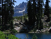 Deer Lake and Sierra Buttes, Tahoe National Forest.  August 2005.