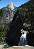 Half Dome and Illilouette Fall