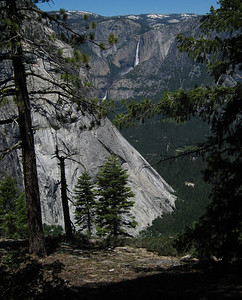 Lower and Upper Yosemite Falls