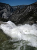 Merced River on the brink of Nevada Fall