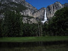 Upper Yosemite Fall from Sentinel Meadow