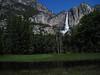 Upper Yosemite Fall from Sentinel Meadow