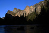 Merced River and Bridalveil Fall from Valley View