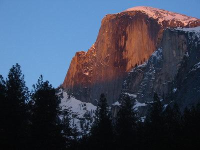 Yosemite Valley Winter - March 6, 2004