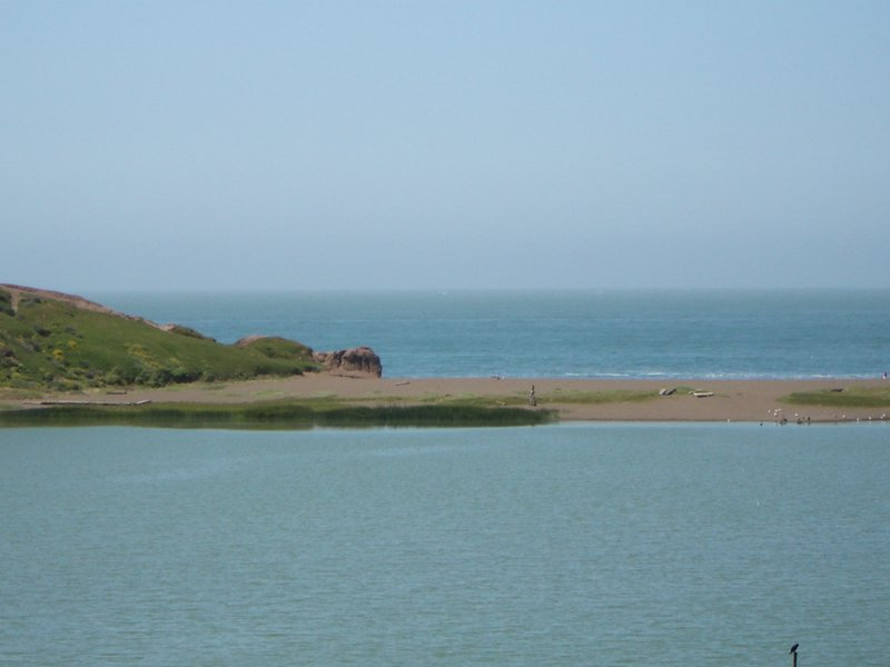 Rodeo Lagoon and Rodeo Beach