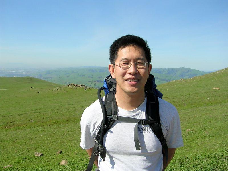Eng-Shien Up Close at Mission Peak