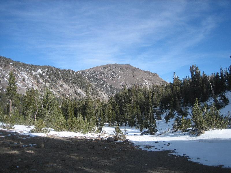 Mt. Rose looks pretty bare