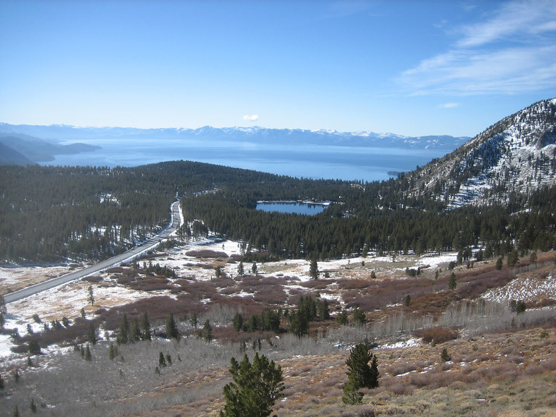 Rte. 431 and Lake Tahoe