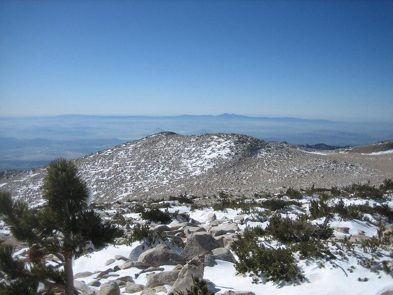 Saddleback Peak(s) and the Santa Ana Mountains
