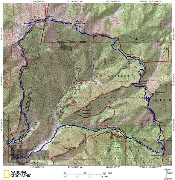 Baldy 6 Peaks 7-17-10 track