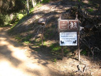 Mt Wilson Trail 11-11-10