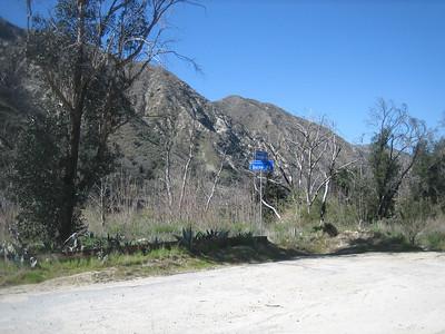 Mt Lukens via Stone Canyon 2-23-13