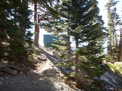 Baldy Ski Hut-Notch 9-7-15
