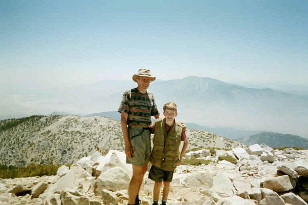 San Gorgonio Summit (7-14-01)