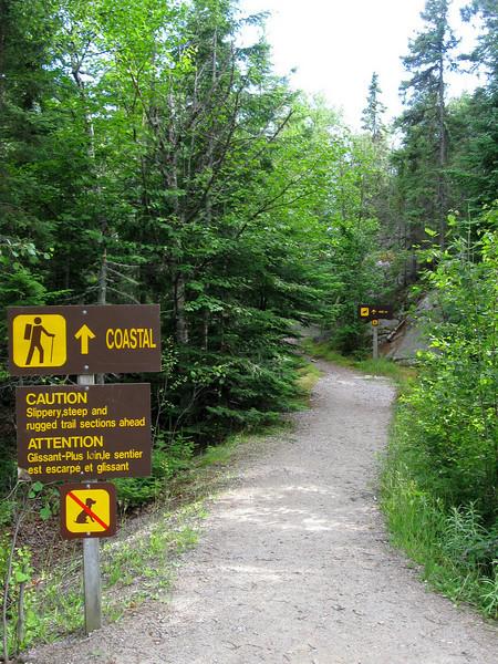 Coastal Trail Trailhead