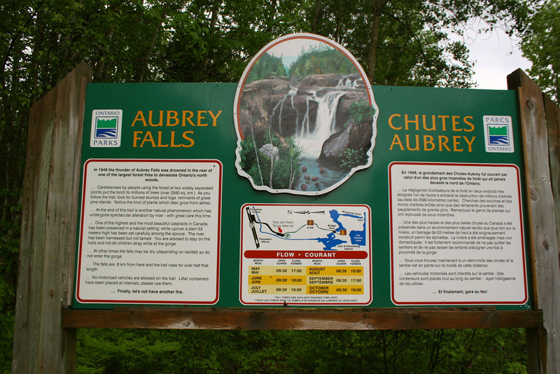 Aubrey Falls Trailhead