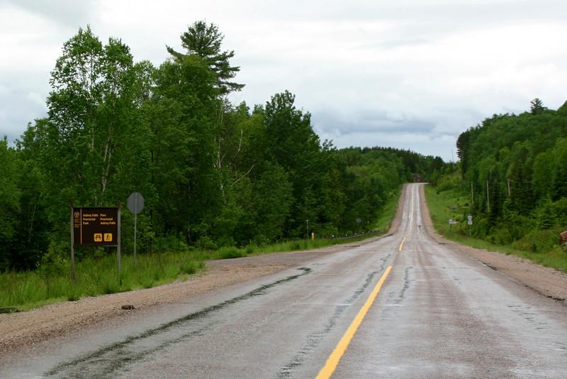 Aubrey Falls Access - Highway 129