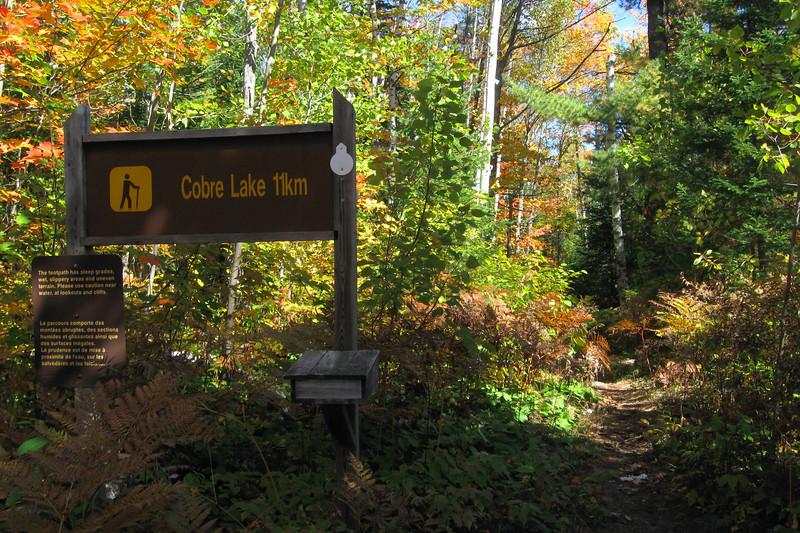 Cobre Lake Trailhead