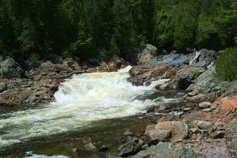 This is the upper section of Chippewa Falls...