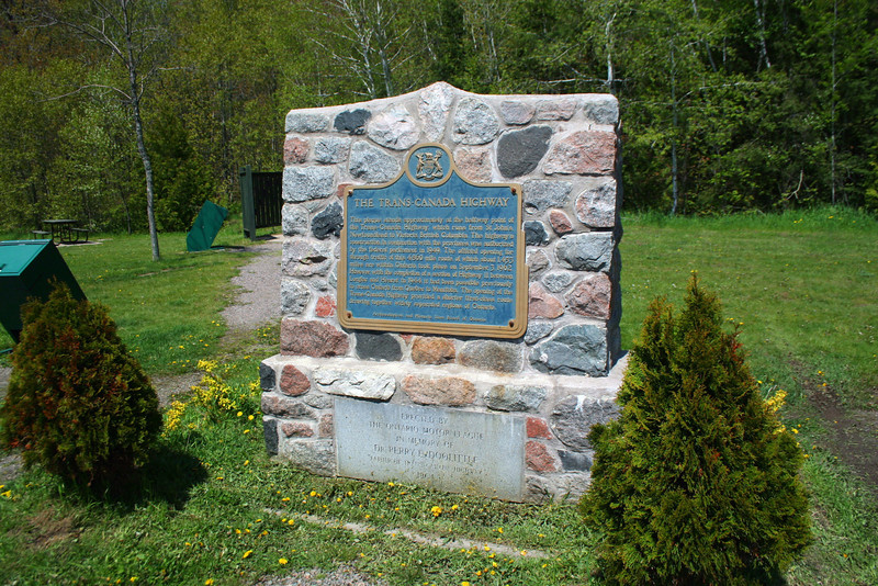 Trans-Canada Highway Plaque