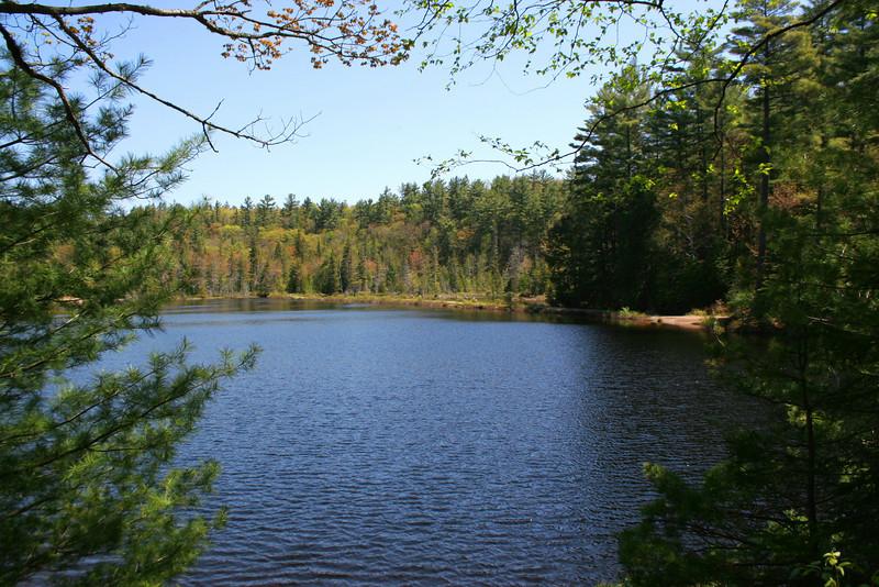 Another shot of Kinsman Pond...