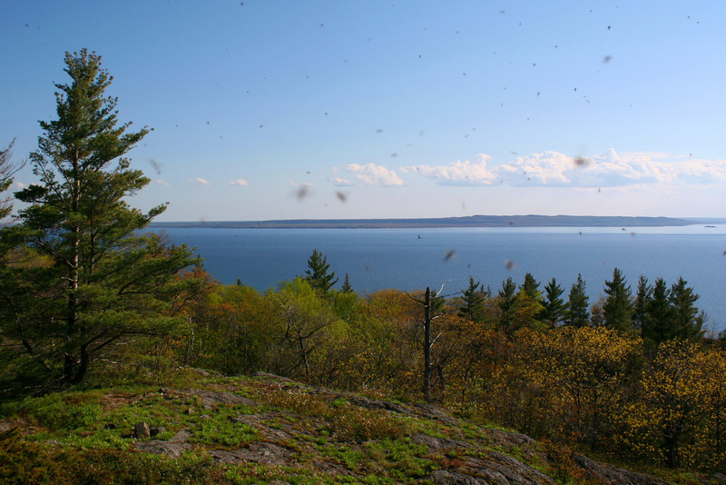 The first overlook atop Gros Cap...did I mention the black flies were bad?