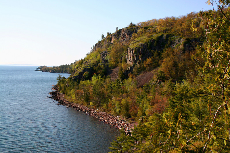 Gros Cap, from the cliffs at the end of Hwy. 550...