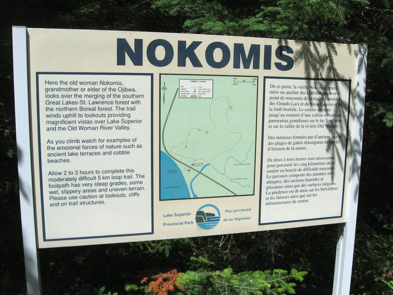 Nokomis Trailhead