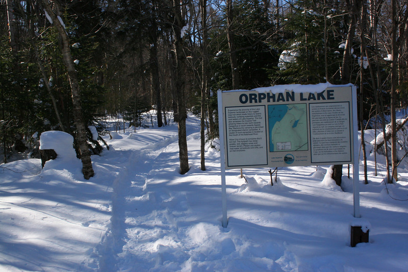 Orphan Lake Trailhead