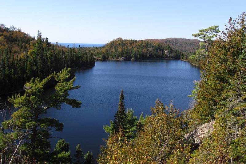Lake Superior Provincial Park -- Orphan Lake Trail (10-4-11)