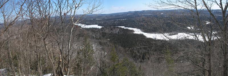 Peat Mountain Summit - 1,620'