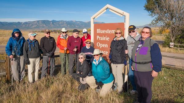 Fourteen Trekkers Joined for the Last HIke of the Season