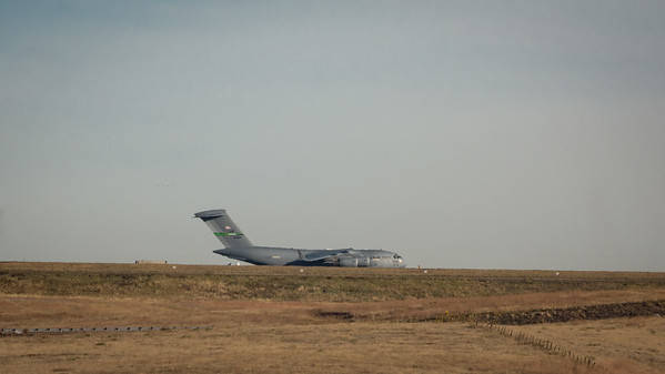 Peterson Air Force Base - Jet on Runway