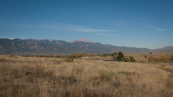 Pikes Peak from the Plains