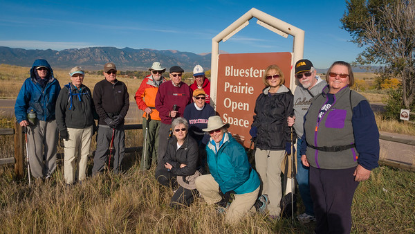 Fourteen Trekkers Joined for the Last HIke of the Season