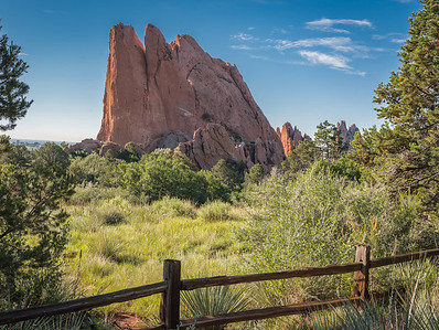 Garden of the Gods - North Gate Rock