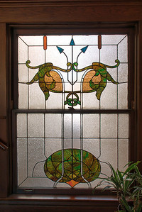 Stained Glass Window - Art Deco Office Building