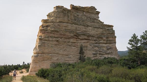Monument Rock Loop Hike  8-26-2015