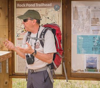 Mueller State Park -06-01-17 Jim Prepping Hikers-08011