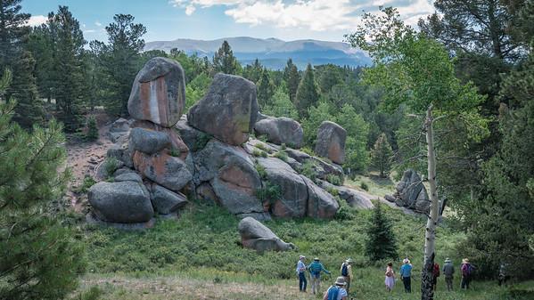 Mueller State Park - Hike - 7-27-2016