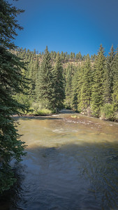 View of the North Fork of the South Platte River