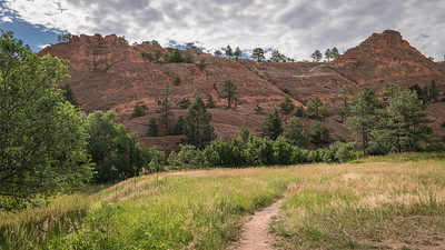 Red Rock Canyon Open Space - Path to Quarry