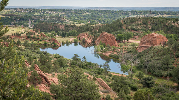Red Rock Canyon Open Space - Lake View from On High